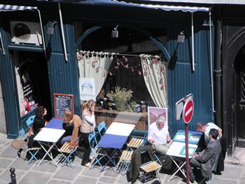 Place Dauphine Paris Cafe