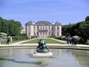 Rodin museum paris hotel biron