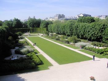 Rodin museum paris garden
