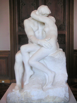 Rodin museum paris the kiss