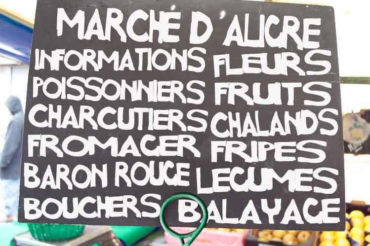 Paris Food Market Marche d'Aligre