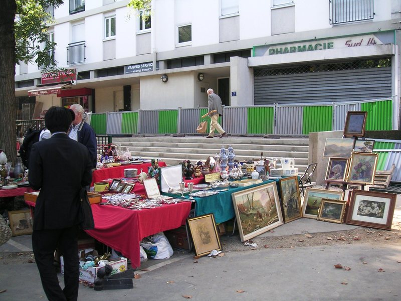 Paris Flea Market - Vanves