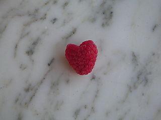 Heart Raspberry