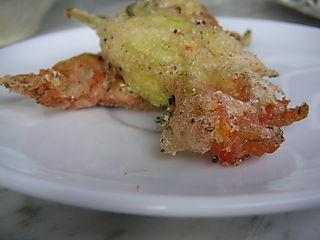Fried Zucchini Blossom
