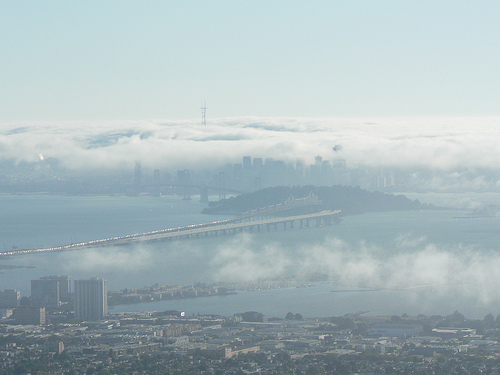 Foggy View of San Fran