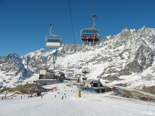 ski resorts northern italy