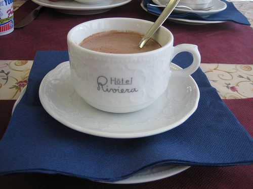 Hot Chocolate to warm you up during Winter in Venice