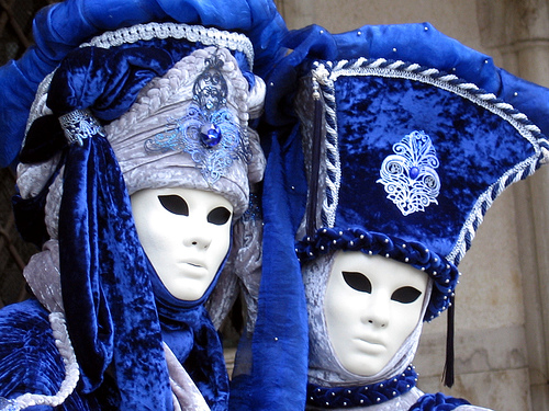 Carnivale takes place in Venice in Winter