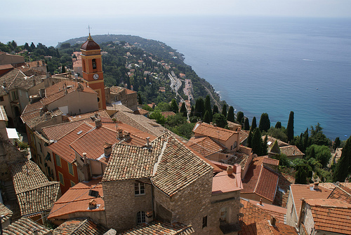 French Riviera : Roqueburne