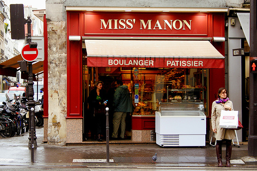 Paris patisserie Miss Manon
