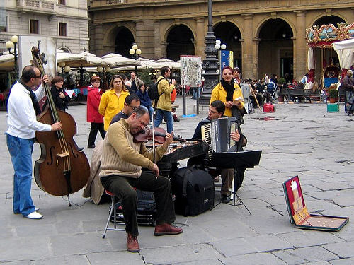 music is one free activity in florence