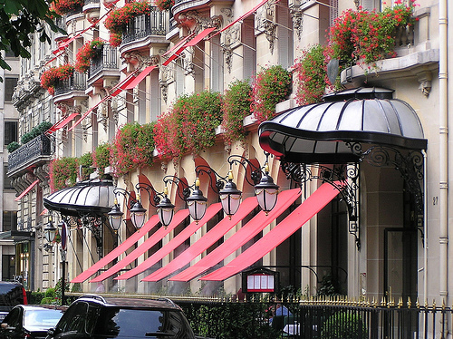 luxury hotels in paris include the Plaza Athenee