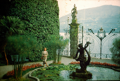 Villa Carlotta a famous garden in Italy