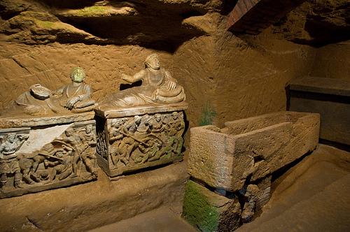 Etruscan Tomb in Chiusi