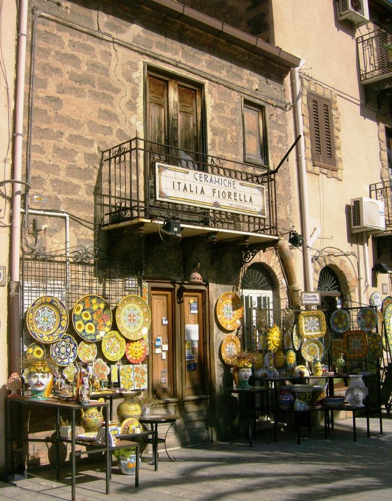 Ceramic Shop Sicily