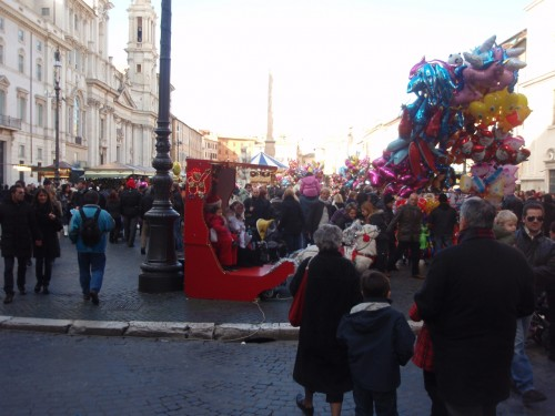 Christmas in Piazza Navona