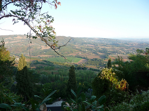 View of Todi in Umbria