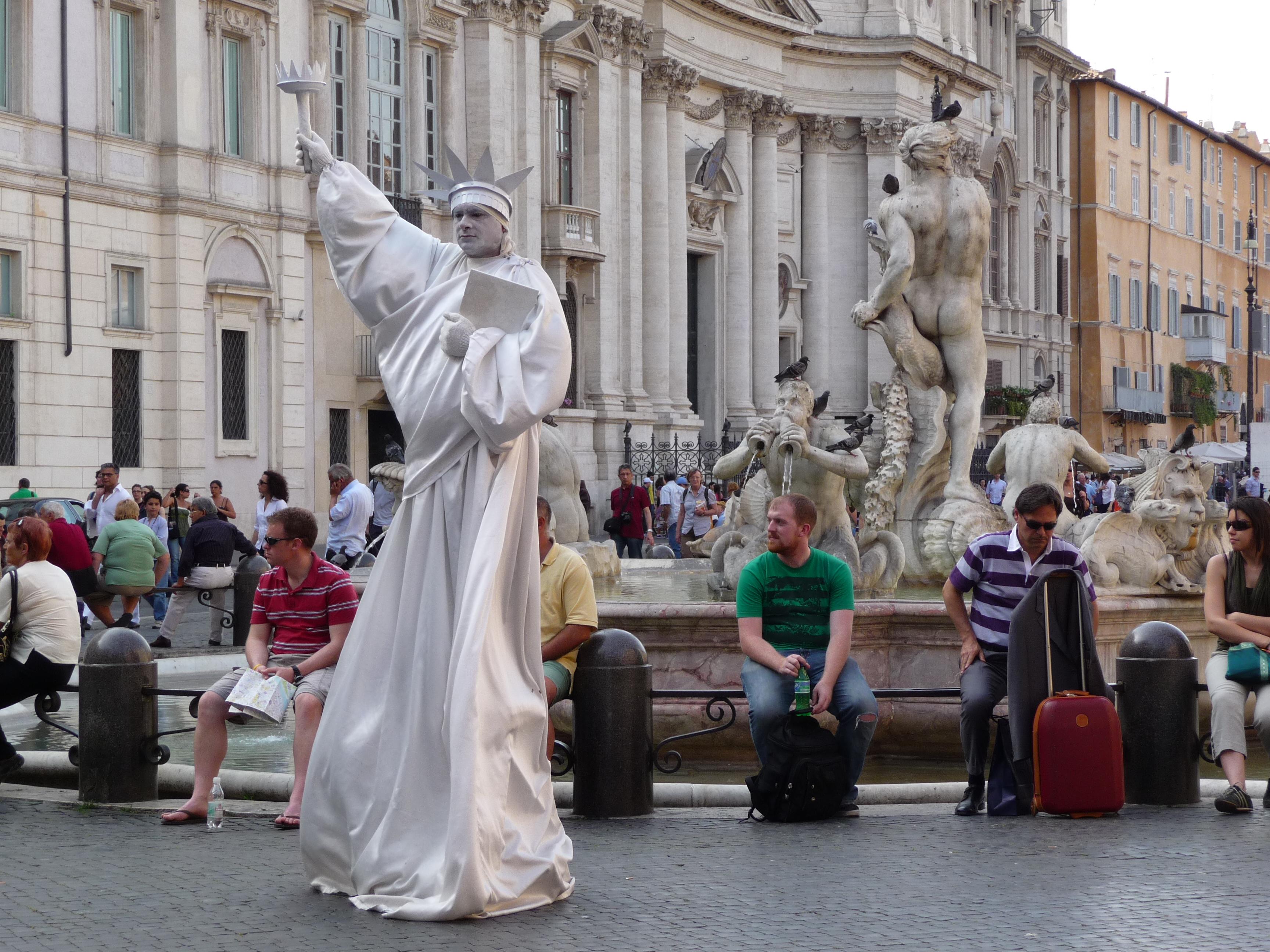 Tourist Rome Italy