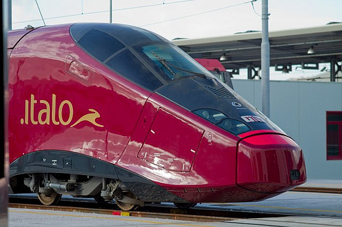 new italian train Italo