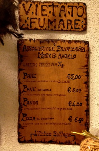 Rustic Sign Puglia