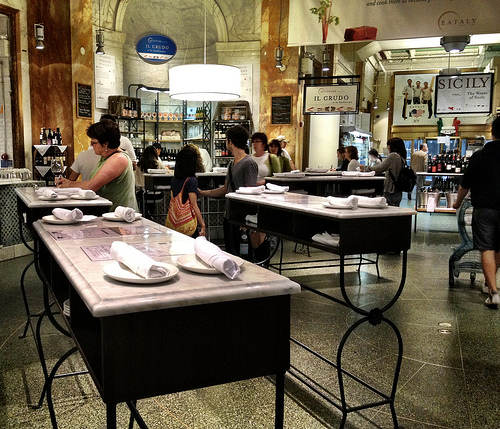 La Piazza at Eataly in NYC