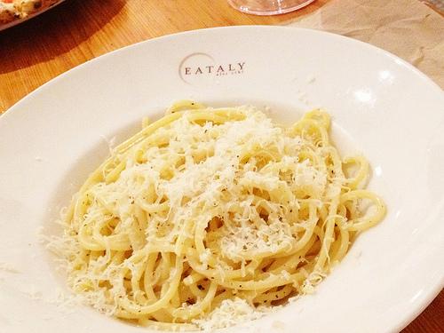pasta at eataly