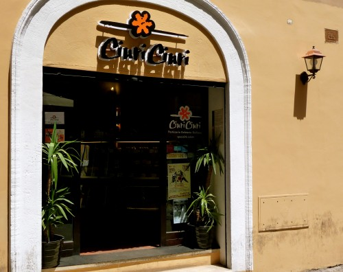 Food in Rome : Ciuri Ciuri
