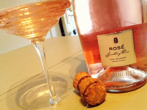 Sparkling Wine for Valentine's Day - Lamberti Rose