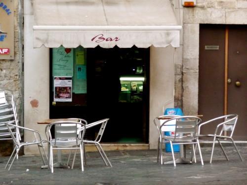 Bar in Bari, Puglia Italy