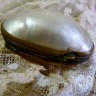Antique Mother of Pearl Trinket Box