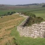 Hadrians Wall Roman Ruins England