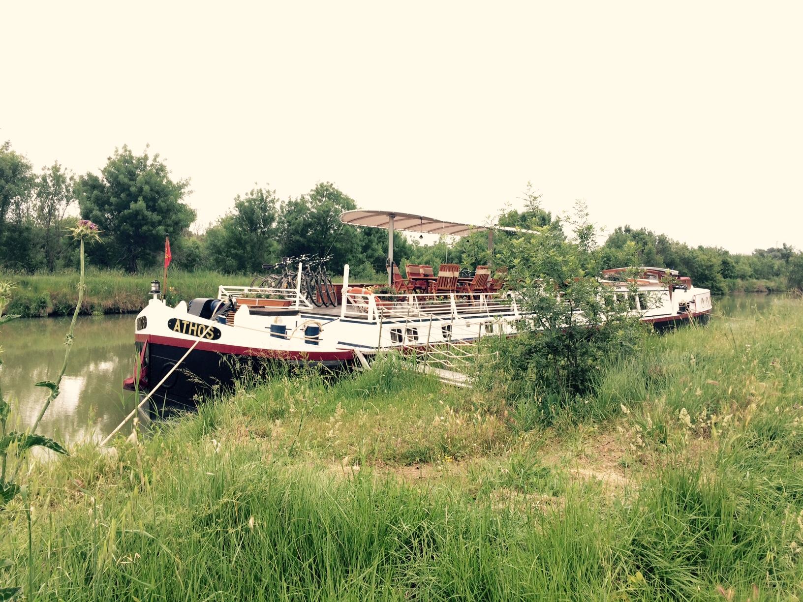 Athos Barge Canal du Midi