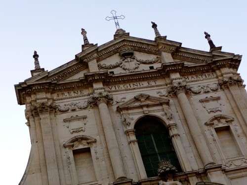 church of sant irene lecce puglia