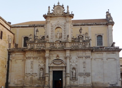 cathedral in lecce puglia