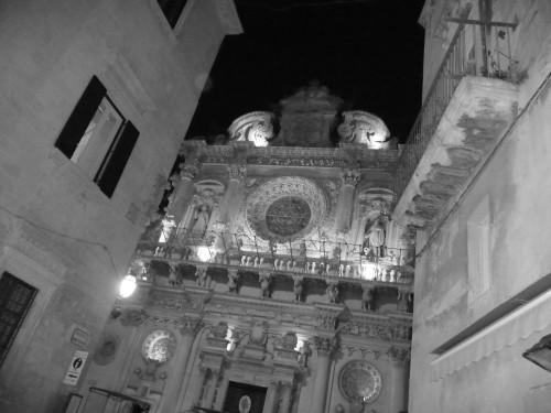 Santa Croce church in lecce puglia