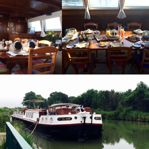 photos of canal du midi barge